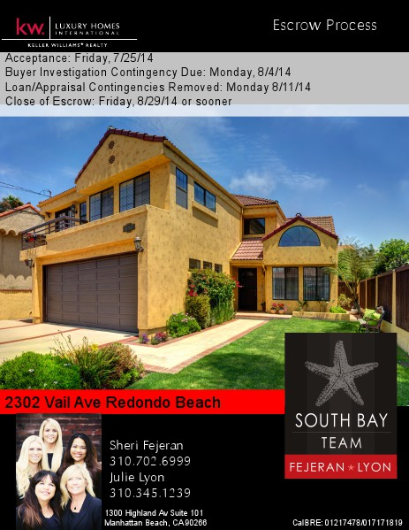 2302 Vail Ave Seller's Escrow Process Volume 1