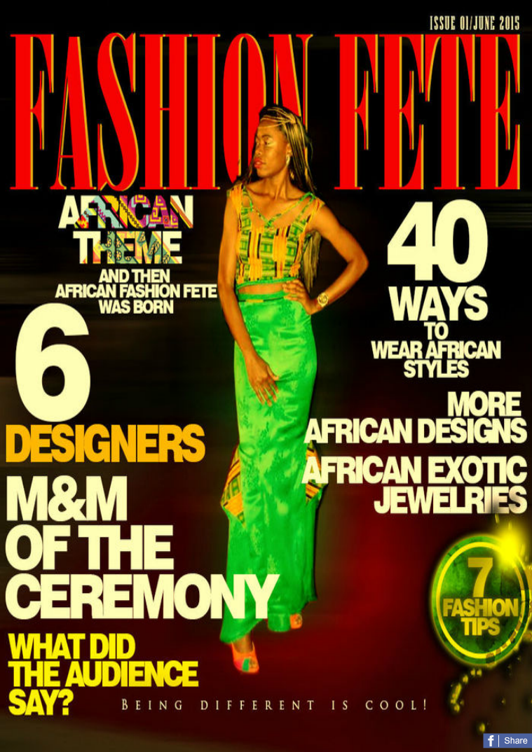 Fashion Fete 2015 Issue 01/June 2015