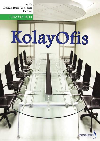 KolayOfis Hukuk Büro Yönetimi Defteri Mayıs.2014