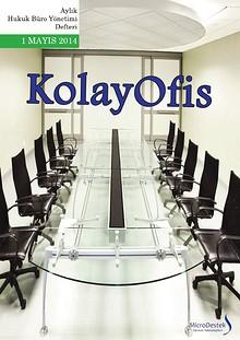 KolayOfis Hukuk Büro Yönetimi Defteri