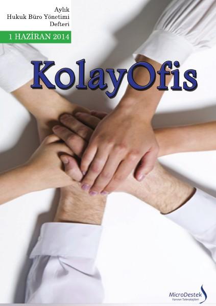 KolayOfis Hukuk Büro Yönetimi Defteri Haziran.2014