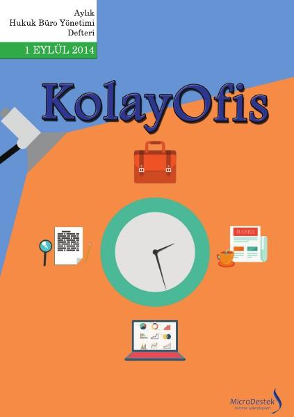 KolayOfis Hukuk Büro Yönetimi Defteri Eylül.2014