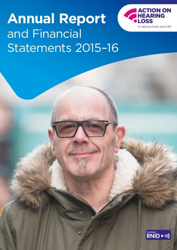 Annual report 2015-16 Annual report 2015-16