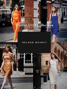 Roland Mouret Resort SS13 Collection