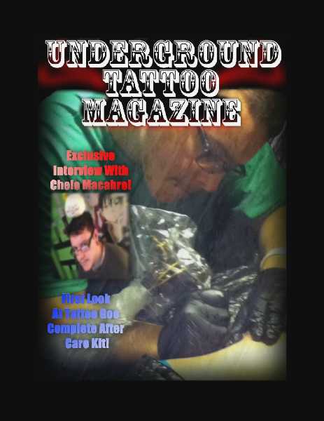 Underground Tattoo Magazine 1