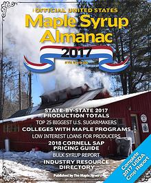 The Official U.S. Maple Syrup Almanac -- 2017