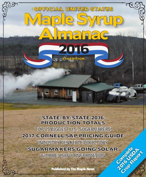 The Official U.S. Maple Syrup Almanac 2016 2016