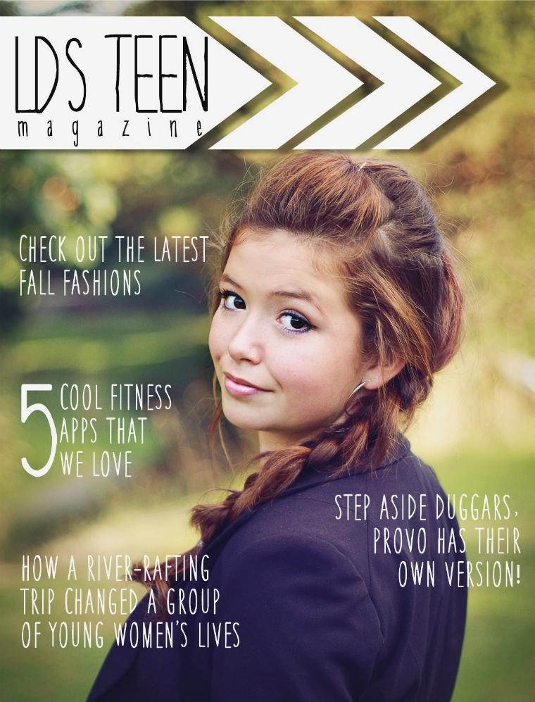 LDS Teen Magazine Oct/Nov 2014
