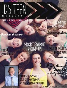 LDS Teen Magazine June/July 2015