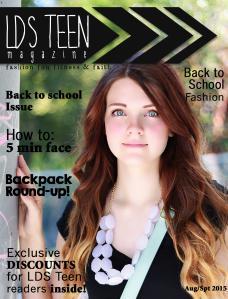 LDS Teen Magazine Aug/Sept 2015