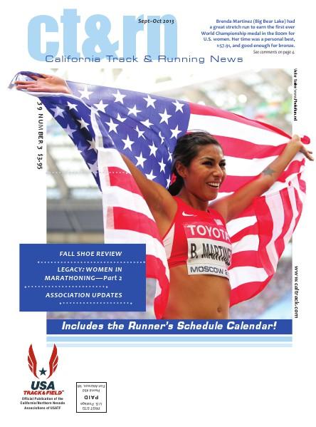 California Track & Running News Sept–Oct 2013, Volume 39 NUMBER 3