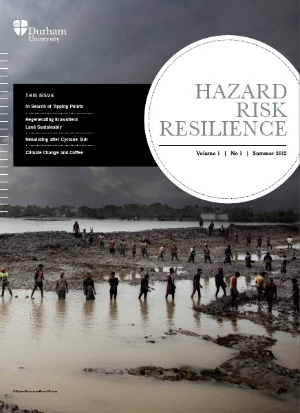Hazard Risk Resilience Magazine Volume 1 Issue1