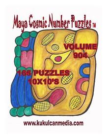 MAYA COSMIC NUMBER PUZZLES VOLUME 904