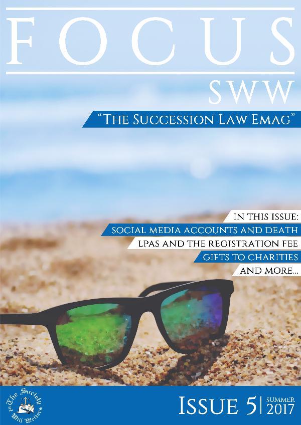 Focus SWW Summer 2017