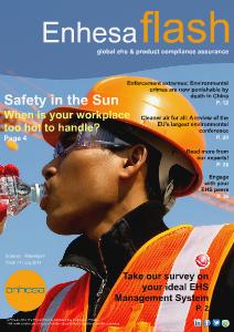 Enhesa Flash 71 July 2013 Issue