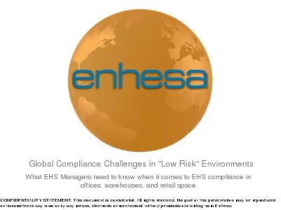 Webinars Compliance Challenges in