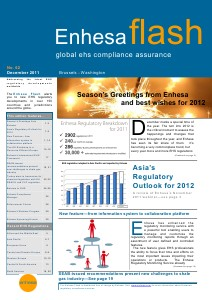 Enhesa Flash 62 December 2011 Issue