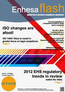 Enhesa Flash 68 January 2013 Issue