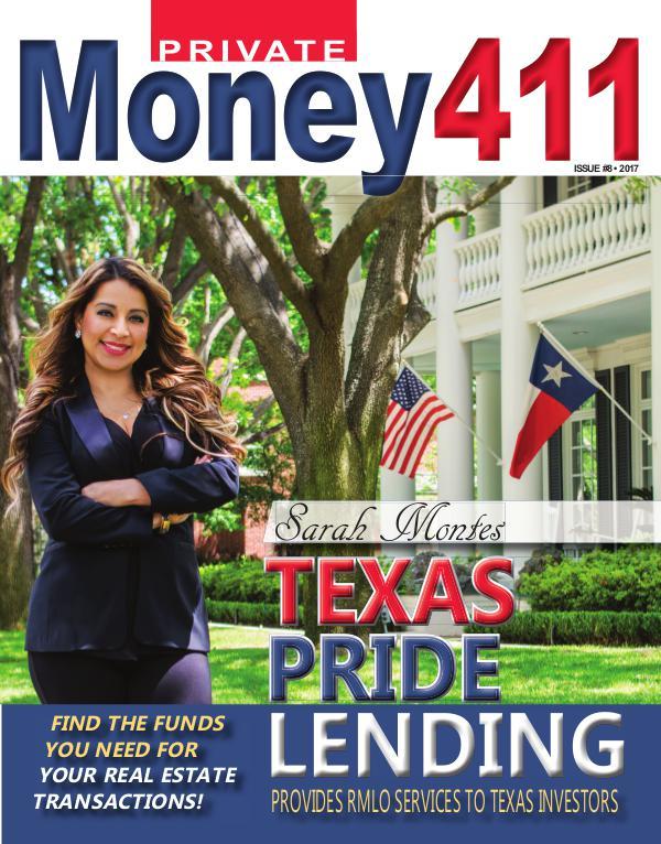 Private Money411 Featuring Sarah Montes