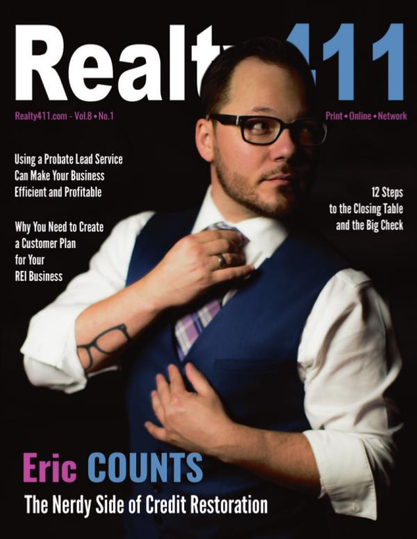 Realty411 Magazine Featuring Eric Counts, Credit Nerds