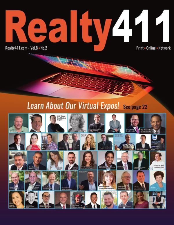Realty411 Magazine -- Learn From Our Live Expos Fall 2020