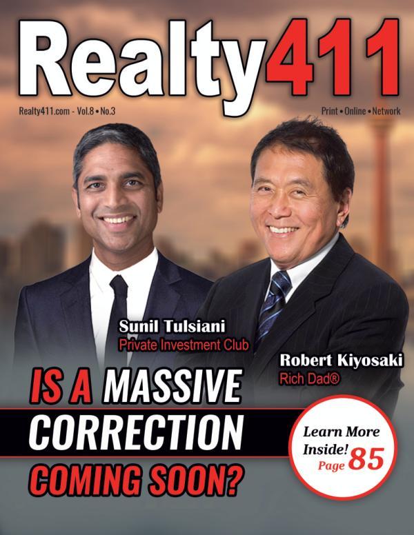 Realty411 - Featuring Mr. Sunil Tulsiani Volume 8, No. 3, 2021