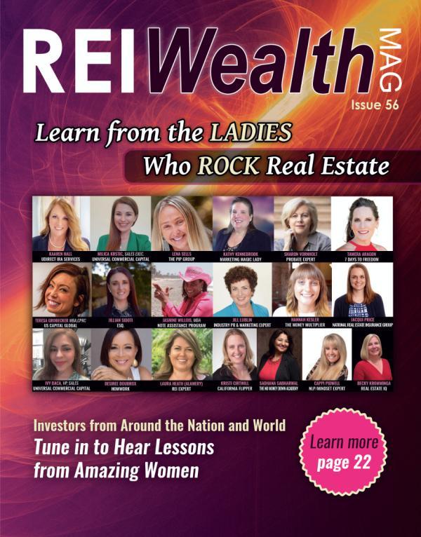 REI Wealth issue 56 Digital - Ladies Who Rock REI