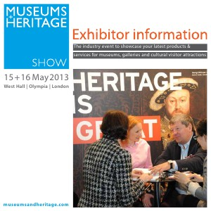 Museums + Heritage Show 2013 Brochure 2013