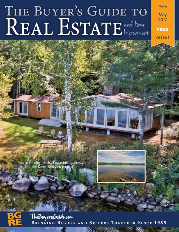 Maine Buyer's Guides May 2017 - Maine