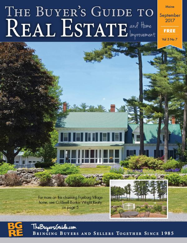 Maine Buyer's Guides September 2017 - Maine
