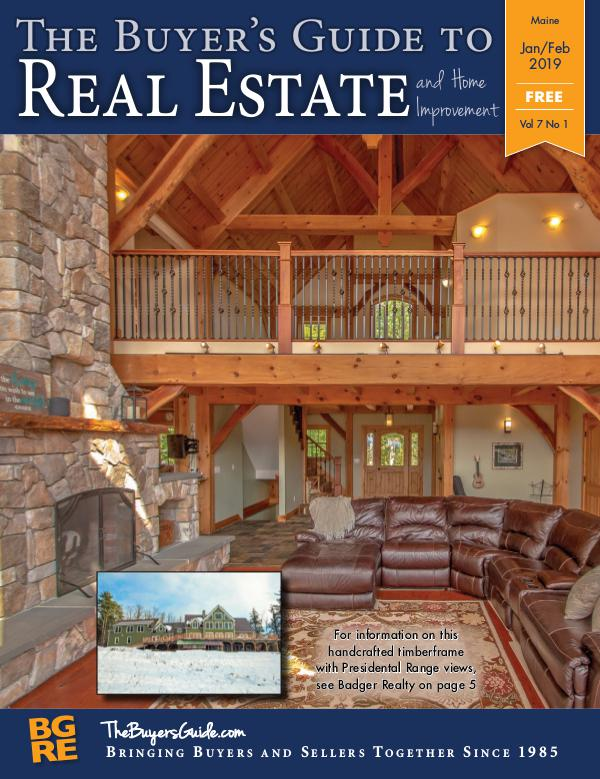 Maine Buyer's Guides Jan/Feb 2019