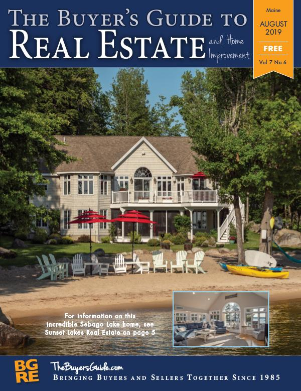 Maine Buyer's Guides August 2019