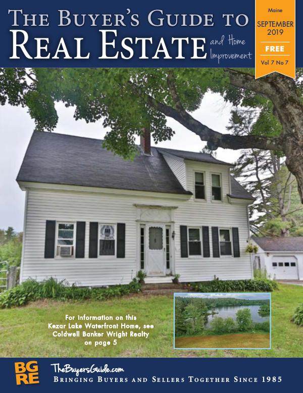 Maine Buyer's Guides September 2019