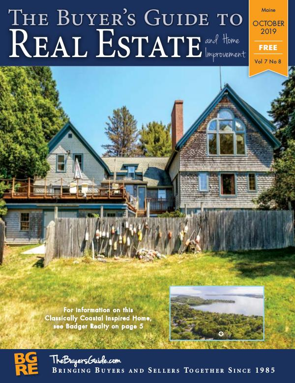 Maine Buyer's Guides October 2019