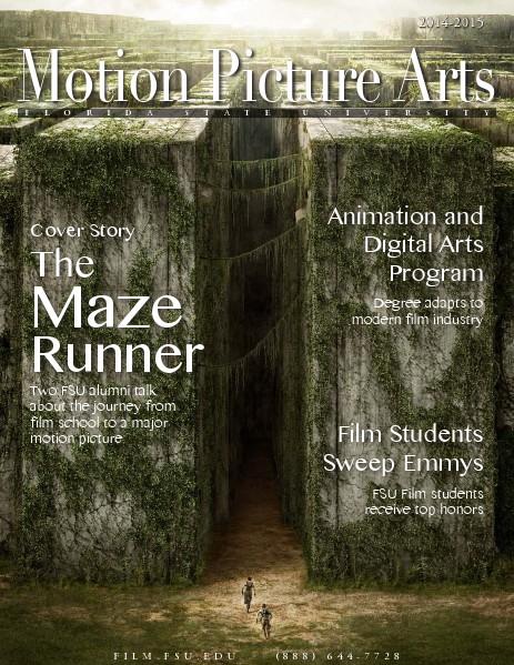 FSU College of Motion Picture Arts 2014-2015 Publication 2014-2015