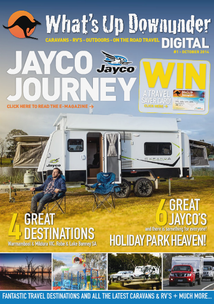 What's Up Downunder Digital 2015 Jayco Issue No. 1