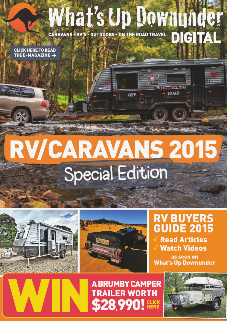 2015 CARAVANS - RV'S - OUTDOORS - ON THE ROAD