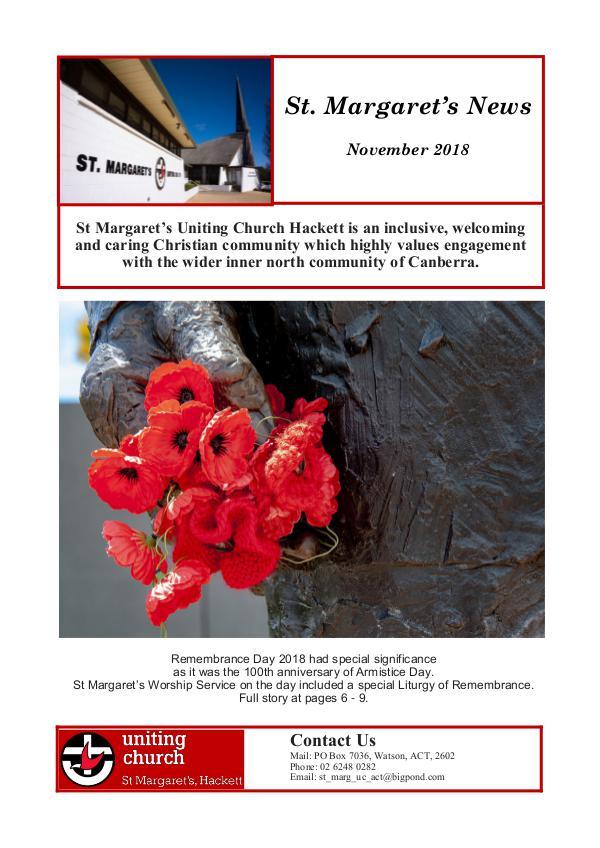 St Margaret's News November 2018