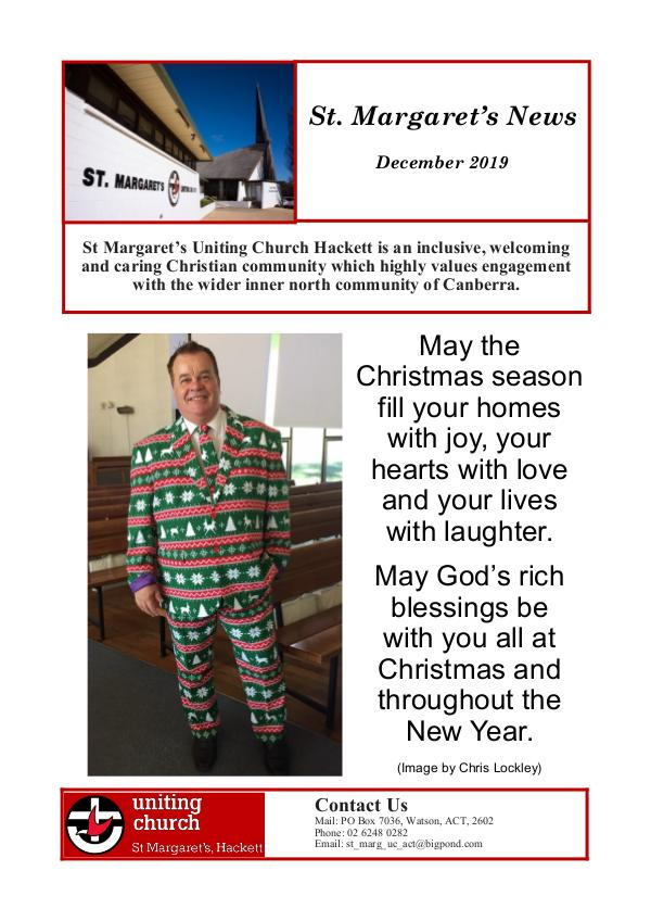 St Margaret's News December 2019