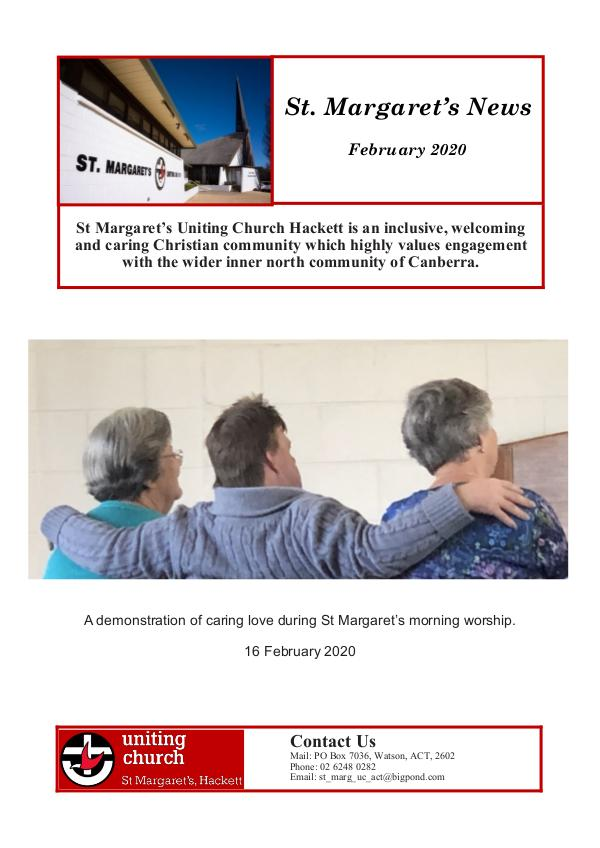 St Margaret's News February 2020