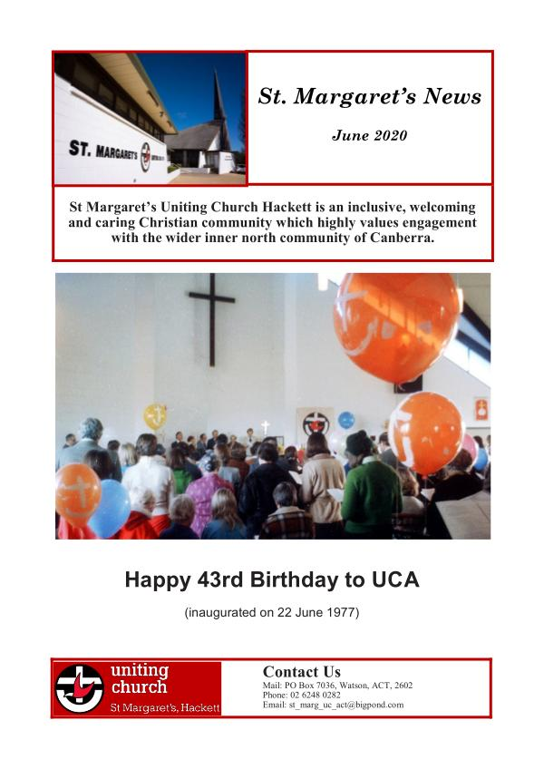 St.Margaret's News June 2020