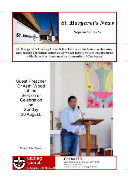 St Margaret's News September 2015