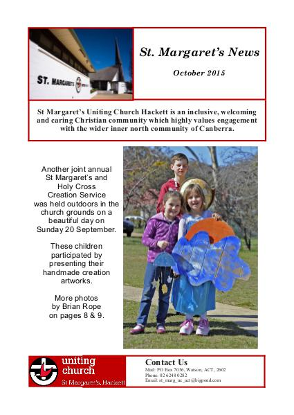 St Margaret's News October 2015