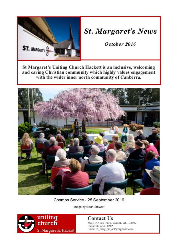 St Margaret's News October 2016