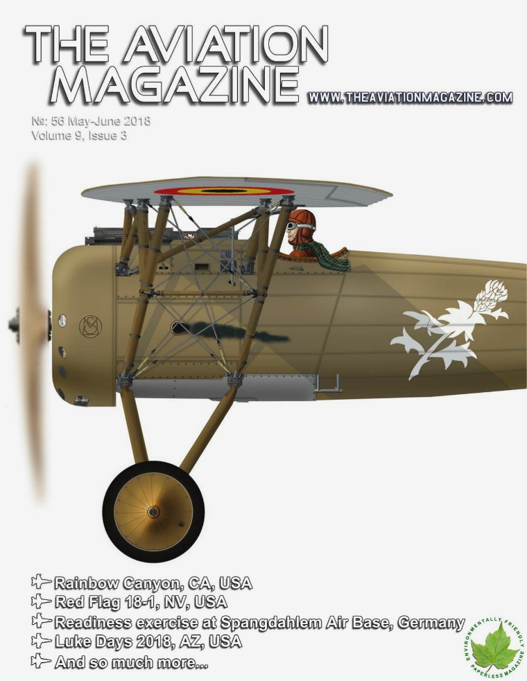 The Aviation Magazine No.56 May June 2018 Edition