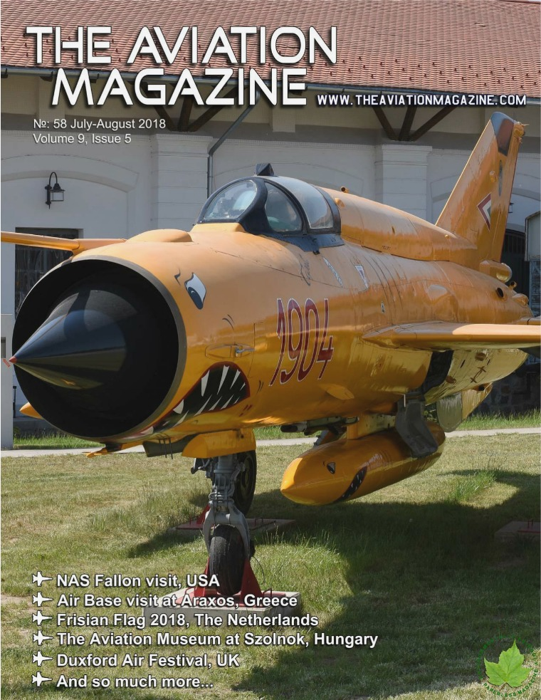 No 58 July-August edition of The Aviation Magazine