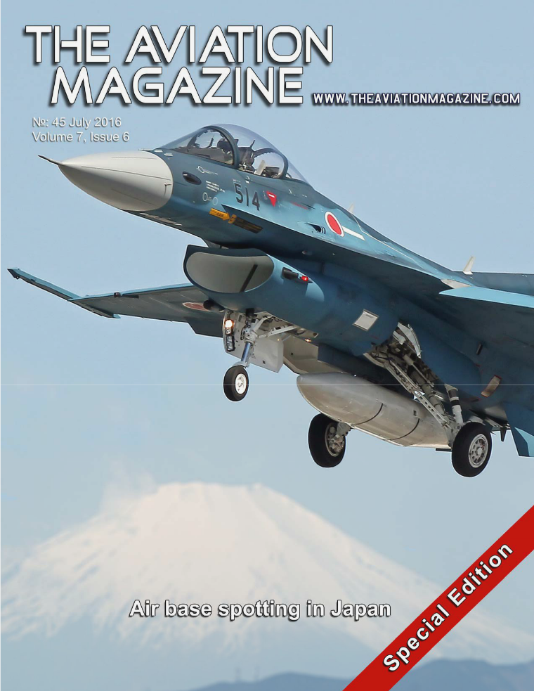 The Aviation Magazine No 45 Special Japanese Air Base Spotting issue
