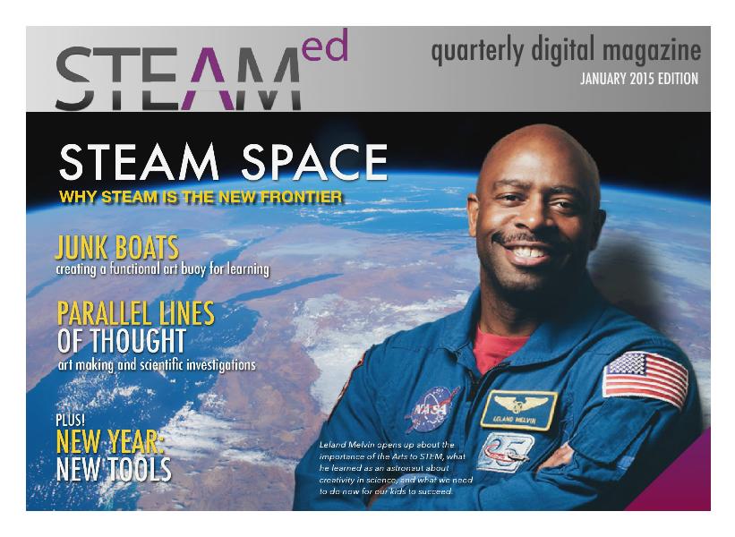 STEAMed Magazine January 2015