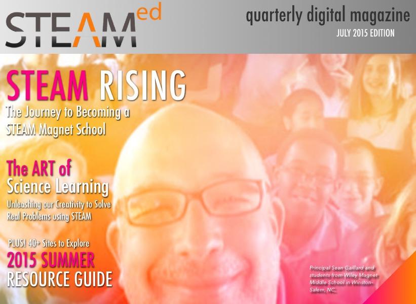 STEAMed Magazine July 2015