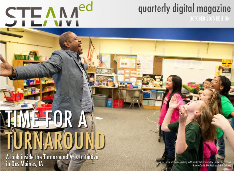 STEAMed Magazine October 2015